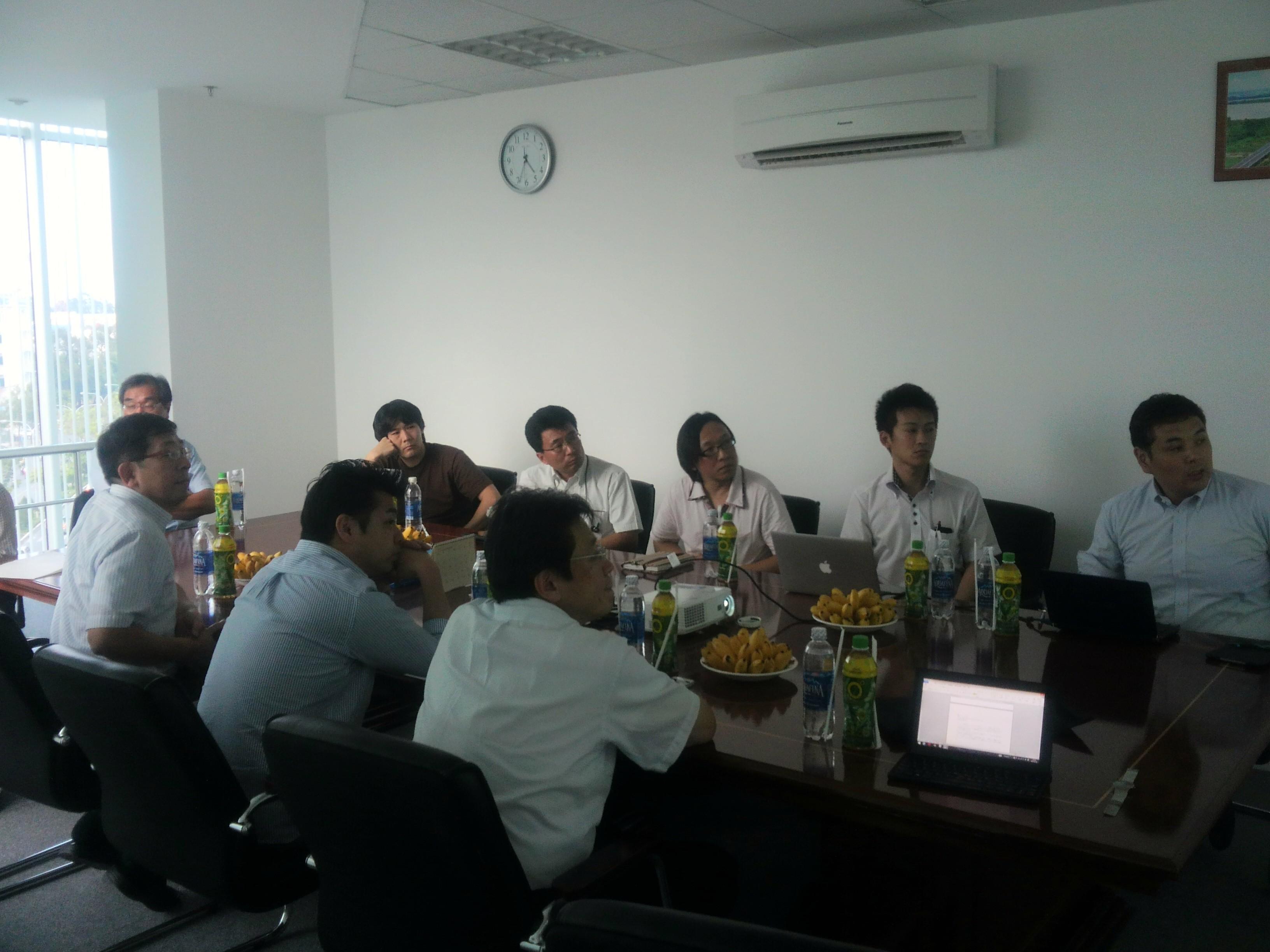 北海道からIT企業の視察がありました